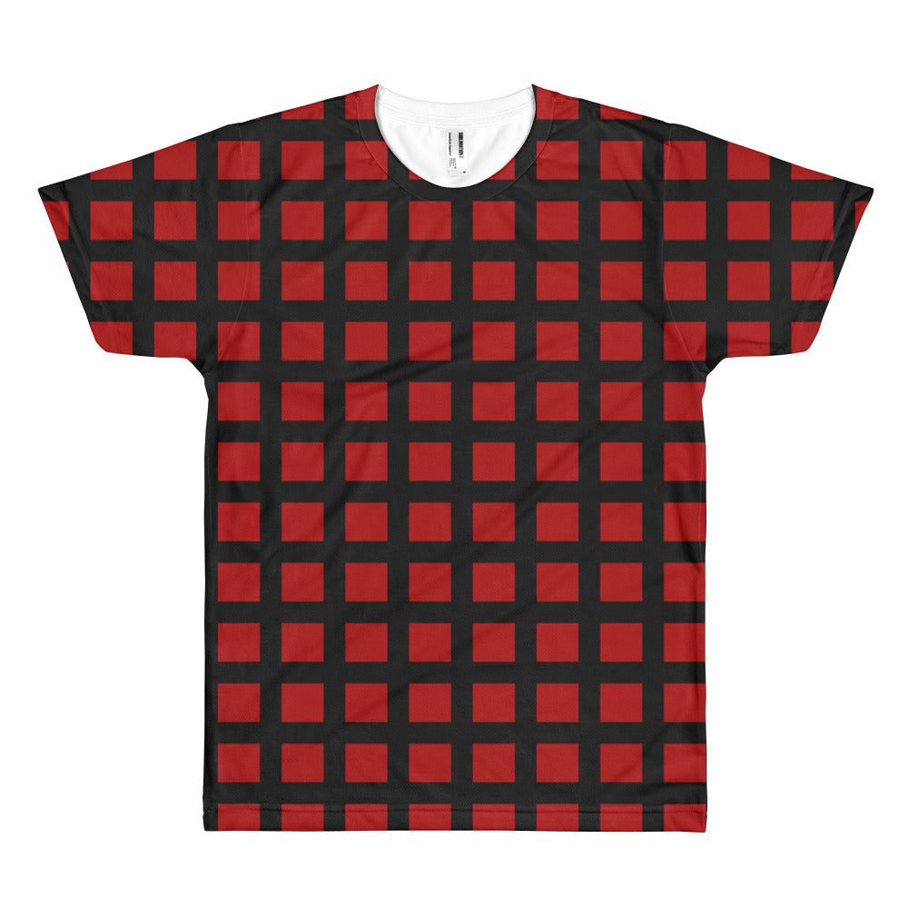 Checked Out - Short sleeve men's t-shirt