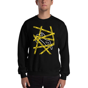 Crime Scene - Men's Sweatshirt