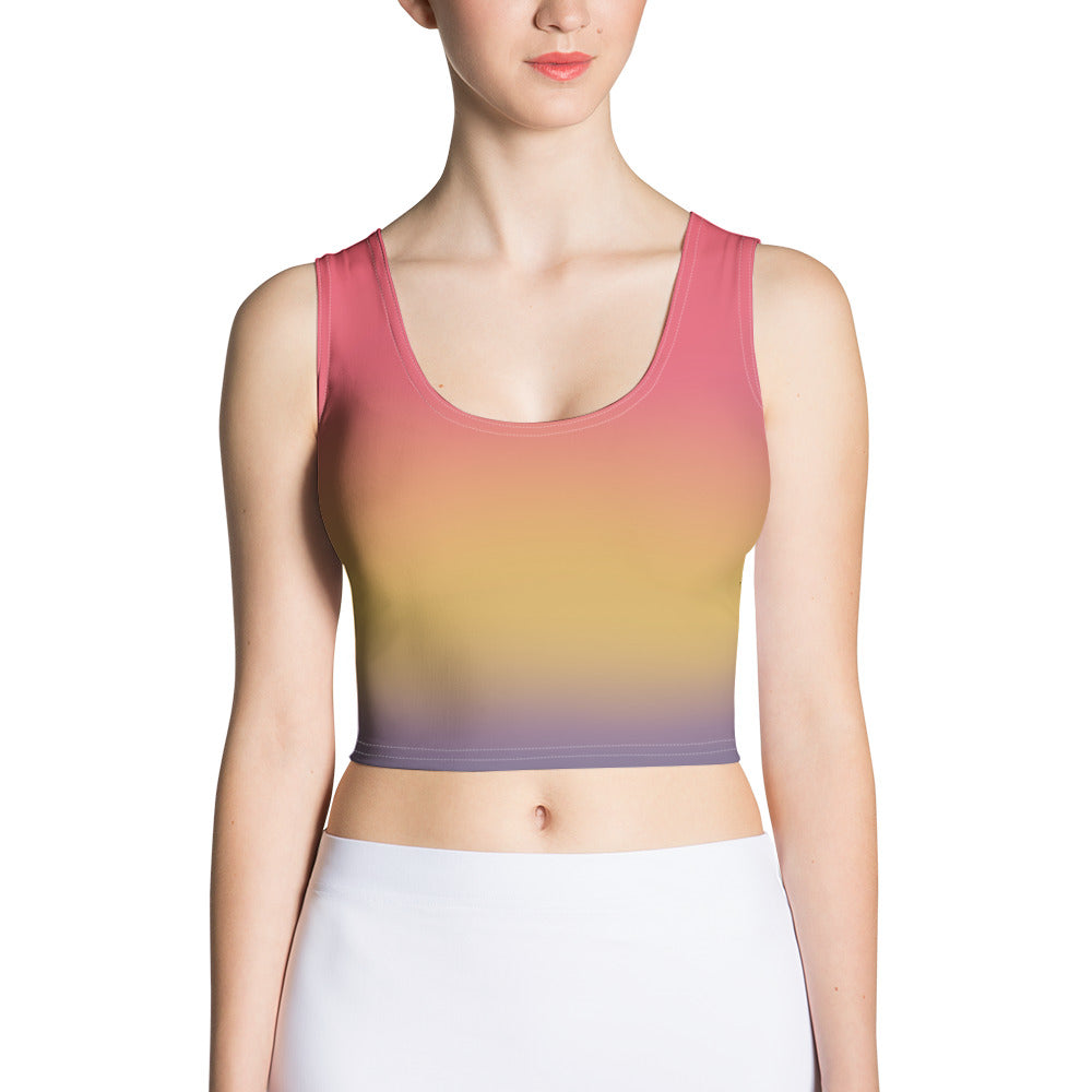 Sunset - Crop Top