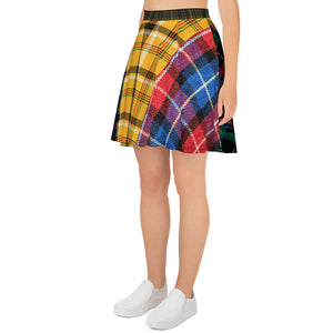You Just Got Plaid - Skater Skirt
