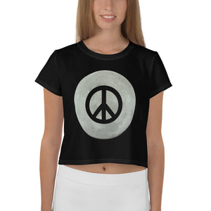 Peace of the Moon - Crop Top