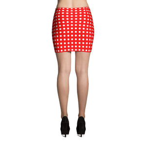 Polka Dot - Mini Skirt
