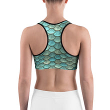 Load image into Gallery viewer, Aqua Woman - Sports bra