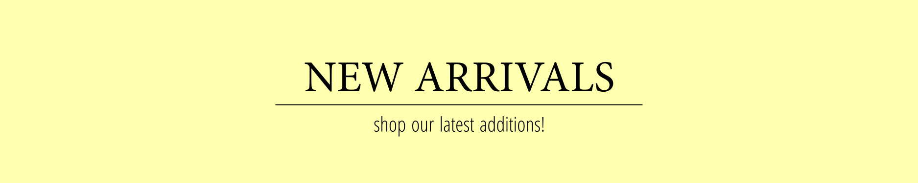 Shop New Arrivals at Chuusi.ca