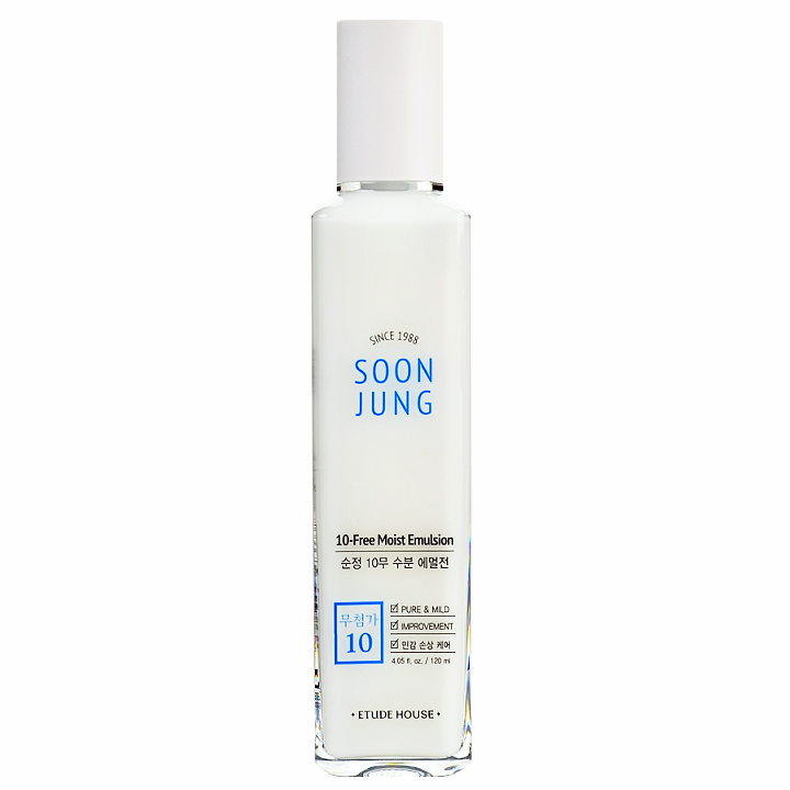 ETUDE HOUSE SoonJung 10-Free Moist Emulsion (120ml) | Shop Etude House Korean skincare cosmetics in Canada & USA at Chuusi.ca