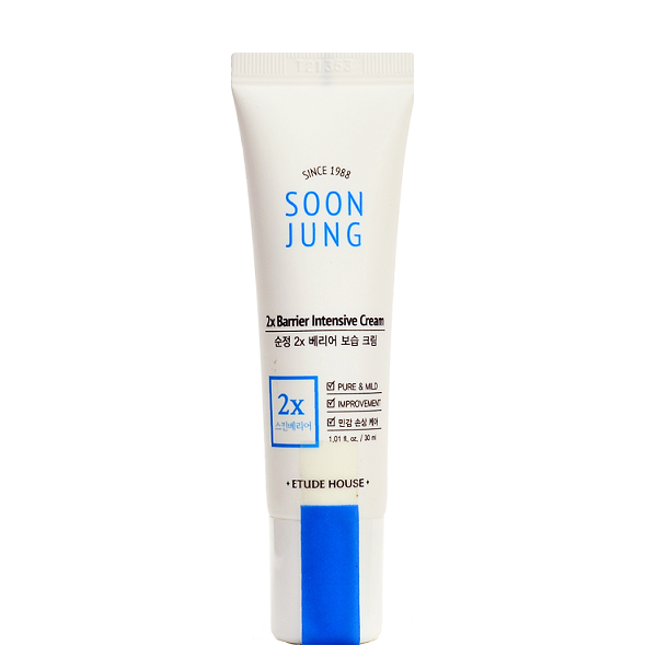 ETUDE HOUSE SoonJung 2x Barrier Intensive Cream (30ml) | Shop Etude House Korean skincare cosmetics in Canada & USA at Chuusi.ca