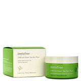 INNISFREE 3-Minute Green Tea Skin Pack -- Shop Korean Japanese Taiwanese Skincare in Canada & USA at Chuusi.ca