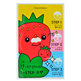 Tony Moly - Runaway Strawberry Seeds 3-Step Nose Pack | Chuusi | Shop Korean and Taiwanese Cosmetics & Skincare at Chuusi.ca