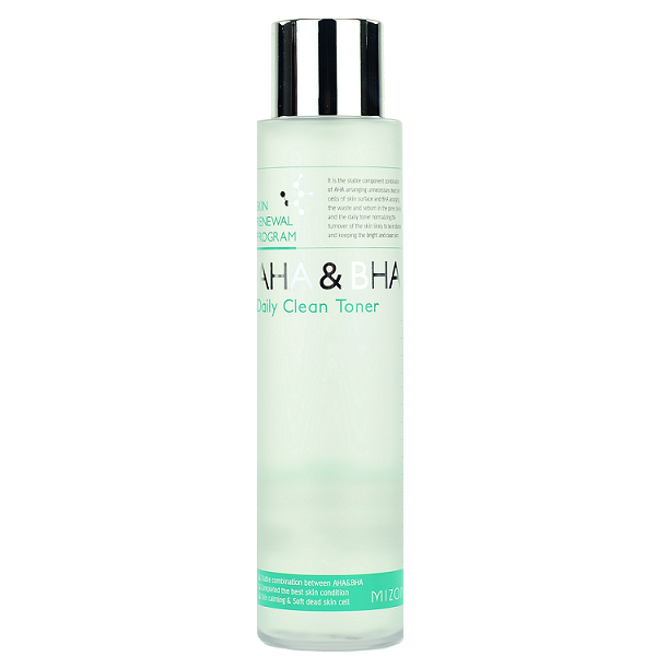 MIZON AHA & BHA Daily Clean Toner | Shop Chuusi Korean Skincare Cosmetics in Canada & USA
