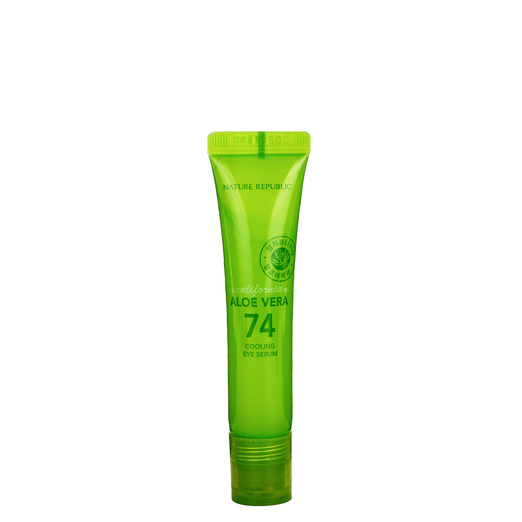 NATURE REPUBLIC California Aloe Vera 74 Cooling Eye Serum | Shop Korean Japanese Taiwanese Beauty in Canada & USA at Chuusi.ca