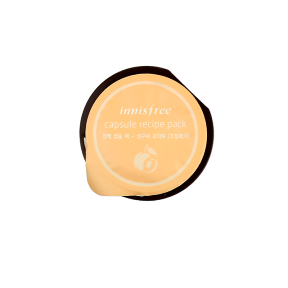 Innisfree - Capsule Recipe Pack - Apricot Stone Yogurt | Chuusi | Shop Korean and Taiwanese Cosmetics & Skincare at Chuusi.ca