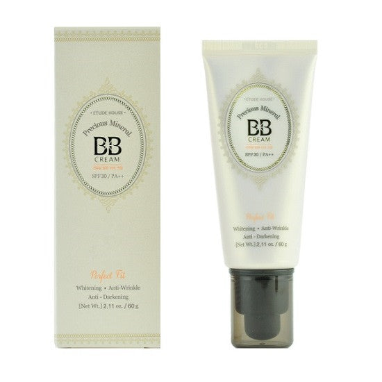 Etude House - Precious Mineral BB Cream Perfect Fit SPF30 PA++ | Chuusi | Shop Korean and Taiwanese Cosmetics & Skincare at Chuusi.ca - 2