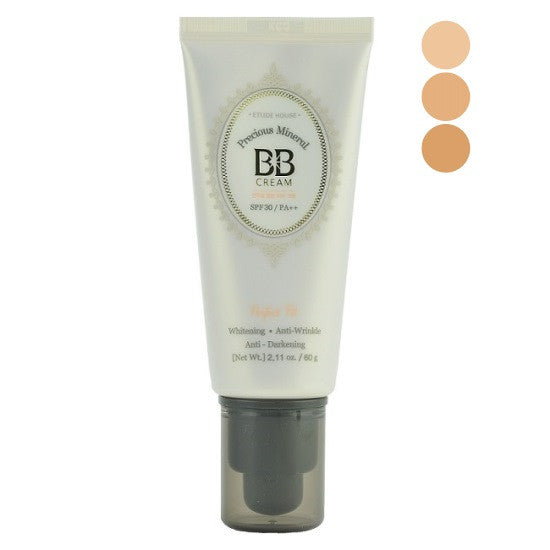 Etude House - Precious Mineral BB Cream Perfect Fit SPF30 PA++ | Chuusi | Shop Korean and Taiwanese Cosmetics & Skincare at Chuusi.ca - 1