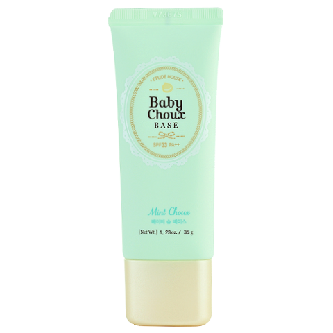 Etude House - Baby Choux Base - Mint Choux | Chuusi | Shop Korean and Taiwanese Cosmetics & Skincare at Chuusi.ca - 1