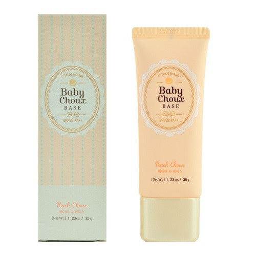Etude House - Baby Choux Base - Peach Choux | Chuusi | Shop Korean and Taiwanese Cosmetics & Skincare at Chuusi.ca - 2