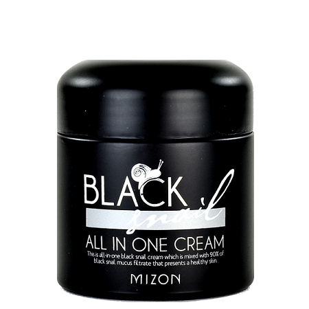 MIZON Black Snail All In One Cream | Shop Chuusi Korean Skincare Cosmetics in Canada & USA