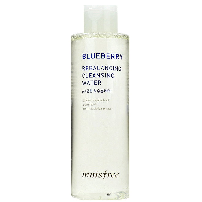 INNISFREE Blueberry Rebalancing Cleansing Water | Shop Innisfree Korean skincare cosmetics in Canada & USA at Chuusi.ca