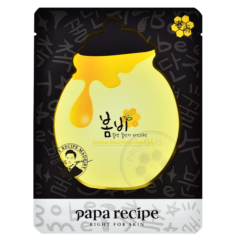PAPA RECIPE Bombee Black Honey Mask Pack | Shop Korean skincare in Canada & USA at Chuusi.ca