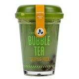 Etude House - Bubble Tea Sleeping Pack - Green Tea | Chuusi | Shop Korean and Taiwanese Cosmetics & Skincare at Chuusi.ca