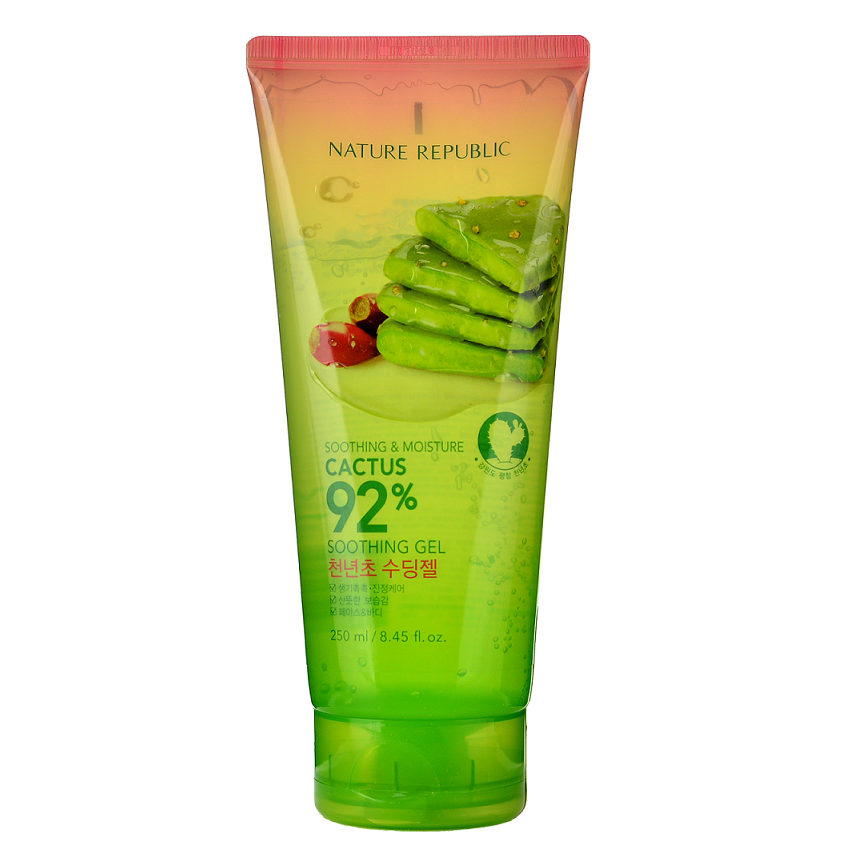 Etude House Soothing & Moisture Cactus 92% Soothing Gel -- Shop Korean Japanese Taiwanese Skincare in Canada & USA at Chuusi.ca