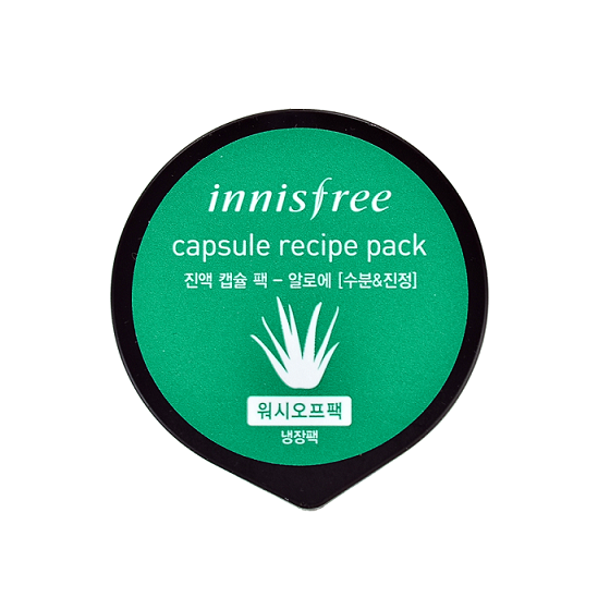 Innisfree - Capsule Recipe Pack - Aloe Soothing | Chuusi | Shop Korean and Taiwanese Cosmetics & Skincare at Chuusi.ca