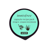 Innisfree - Capsule Recipe Pack - Bija & Aloe (Sleeping Pack) | Chuusi | Shop Korean and Taiwanese Cosmetics & Skincare at Chuusi.ca