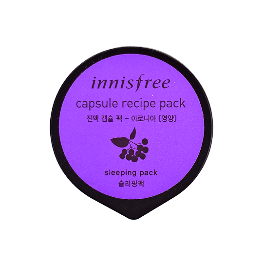 INNISFREE Capsule Recipe Pack Aronia | Shop Innisfree Korean Skincare Cosmetics in Canada & USA at Chuusi.ca