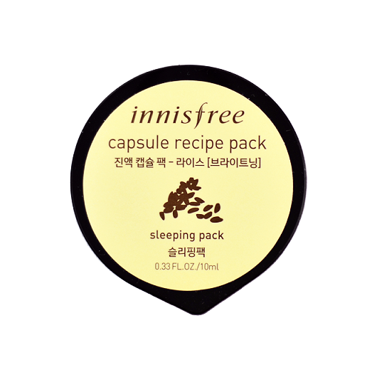 INNISFREE Capsule Recipe Pack Rice | Shop Innisfree Korean Skincare Cosmetics in Canada & USA at Chuusi.ca