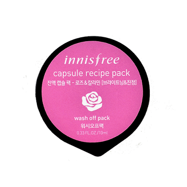 INNISFREE Capsule Recipe Pack - Rose & Calamine | Shop Innisfree Korean skincare cosmetics in Canada & USA at Chuusi.ca