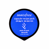 INNISFREE Capsule Recipe Pack Seaweed | Shop Innisfree Korean skincare cosmetics in Canada & USA at Chuusi.ca