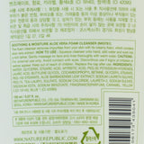 NATURE REPUBLIC Soothing & Moisture Aloe Vera Foam Cleanser | Shop Nature Republic in Canada & USA at Chuusi.ca