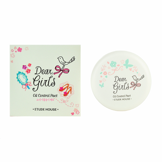 Etude House - Dear Girls Oil Control Pact | Chuusi | Shop Korean and Taiwanese Cosmetics & Skincare at Chuusi.ca - 2
