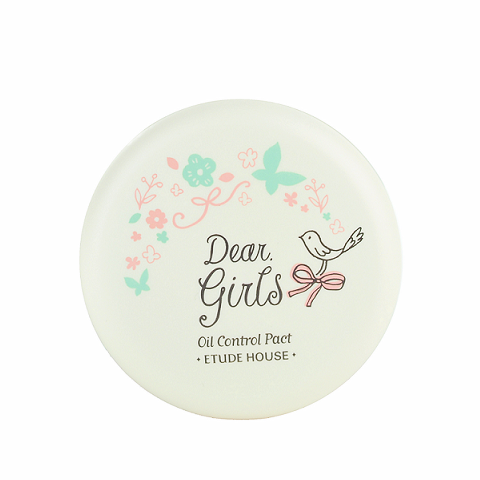 ETUDE HOUSE Dear Girls Oil Control Pact | Shop Korean Skincare Cosmetics in Canada & USA | Chuusi