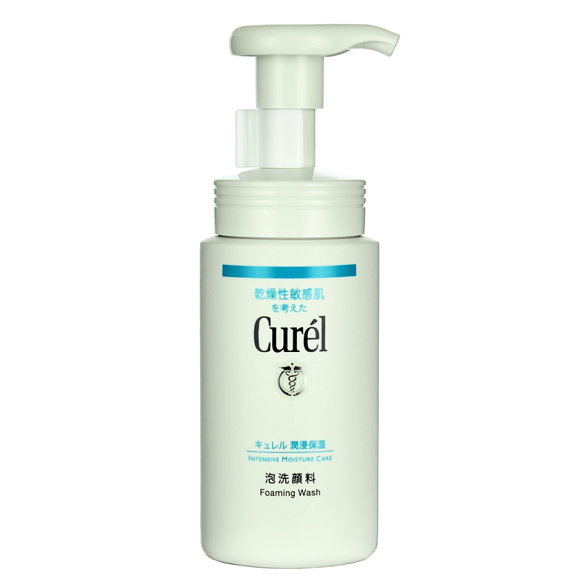 KAO CUREL Foaming Wash -- Shop Korean Japanese Taiwanese skincare in Canada & USA at Chuusi.ca