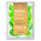 TONY MOLY Fresh To Go Aloe Mask Sheet -- Shop Korean Japanese Taiwanese Skincare in Canada & USA at Chuusi.ca