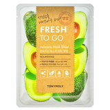 TONY MOLY Fresh To Go Avocado Mask Sheet -- Shop Korean Japanese Taiwanese Skincare in Canada & USA at Chuusi.ca