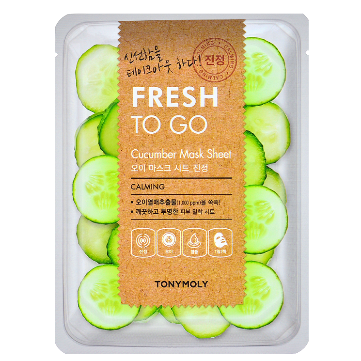 Fresh To Go Cucumber Mask Sheet