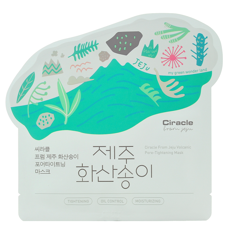Ciracle - From Jeju Volcanic Pore-Tightening Mask | Chuusi | Shop Korean and Taiwanese Cosmetics & Skincare at Chuusi.ca - 1