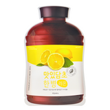 A'PIEU Fruit Vinegar Sheet Mask - Lemon -- Shop Korean Japanese Taiwanese beauty in Canada & USA at Chuusi.ca