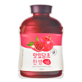 A'PIEU Fruit Vinegar Sheet Mask - Pomegranate -- Shop Korean Japanese Taiwanese skincare in Canada & USA at Chuusi.ca