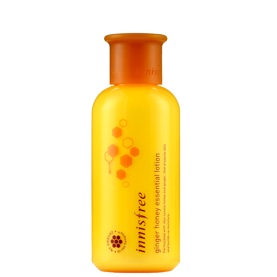 INNISFREE Ginger Honey Essential Lotion | Shop Korean Japanese Taiwanese Skincare at Chuusi.ca