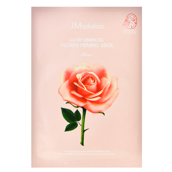 JM SOLUTION Glow Luminous Flower Firming Mask Rose | Shop Korean Skincare in Canada & USA at Chuusi.ca