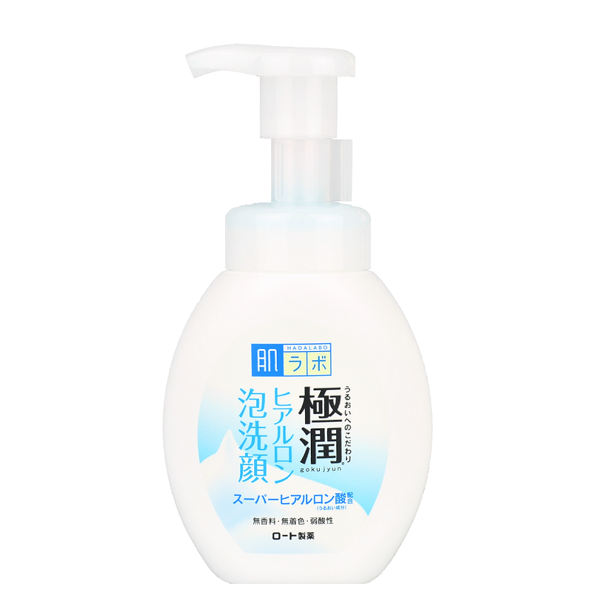 HADA LABO Gokujyun Super Hyaluronic Acid Foam Cleanser | Shop Hada Labo Japanese Cleanser in Canada & USA at Chuusi.ca