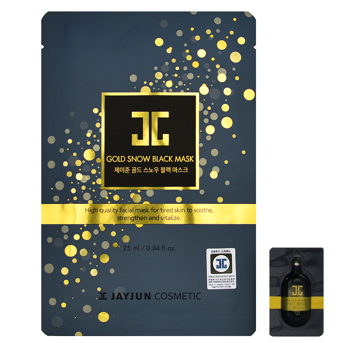 JAYJUN Gold Snow Black Mask | Shop Korean Skincare in Canada & USA at Chuusi.ca