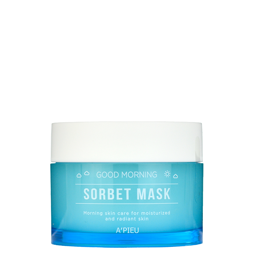 APieu Good Morning Sorbet Mask -- Shop Korean Japanese Taiwanese Skincare in Canada & USA at Chuusi.ca