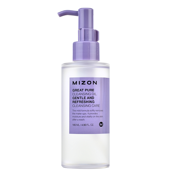 MIZON Great Pure Cleansing Oil | Shop Chuusi Korean Skincare Cosmetics in Canada & USA
