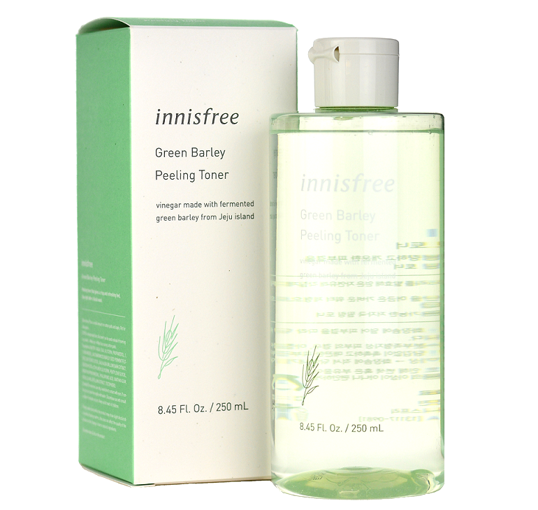 INNISFREE Green Barley Peeling Toner -- Shop Korean Japanese Taiwanese Skincare in Canada & USA at Chuusi.ca