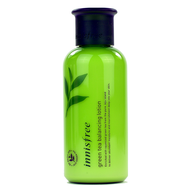 Innisfree - Green Tea Balancing Lotion | Chuusi | Shop Korean and Taiwanese Cosmetics & Skincare at Chuusi.ca