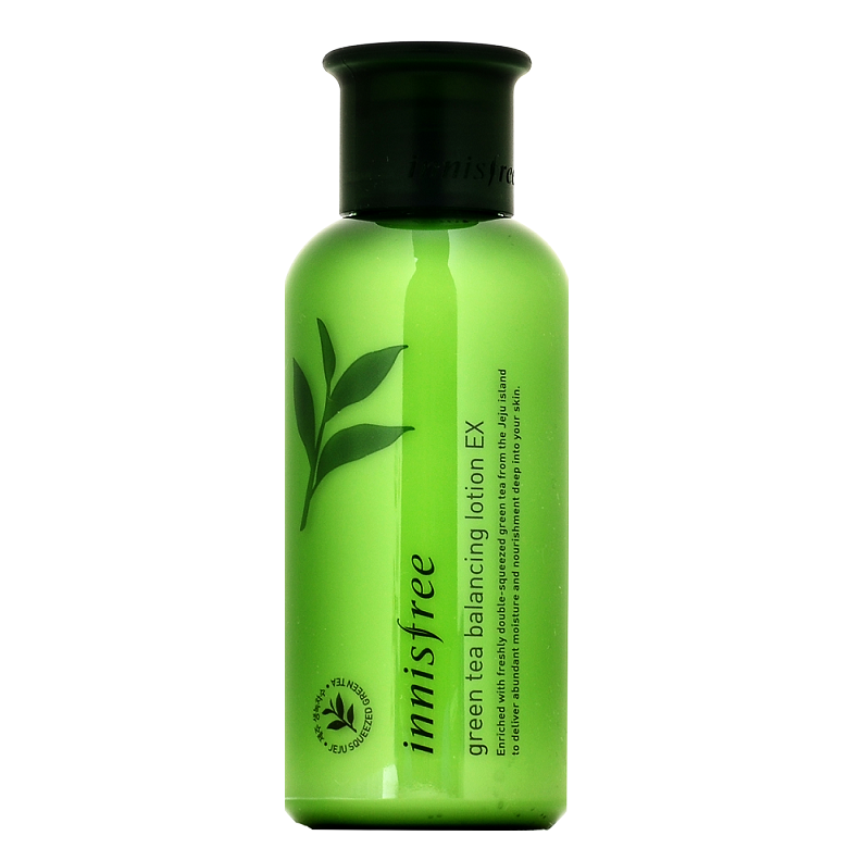 INNISFREE Green Tea Balancing Lotion EX | Shop Innisfree Korean skincare in Canada & USA at Chuusi.ca