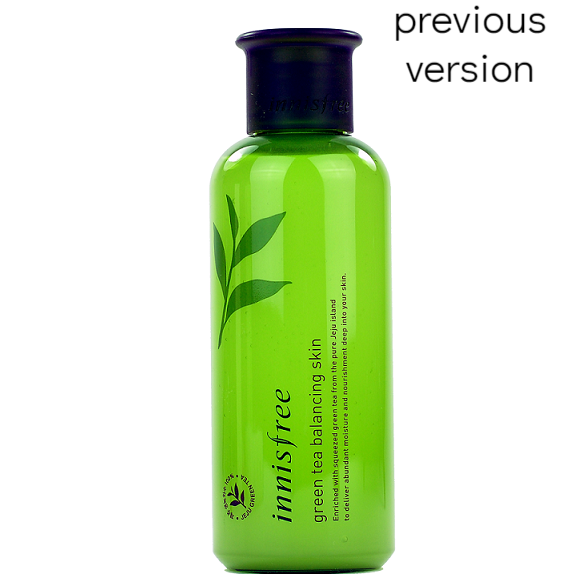 Innisfree - Green Tea Balancing Skin Toner | Chuusi | Shop Korean and Taiwanese Cosmetics & Skincare at Chuusi.ca